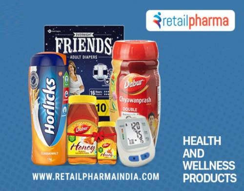 Buy Food & Beverages Products Online at best Price in India - Retail Pharma India